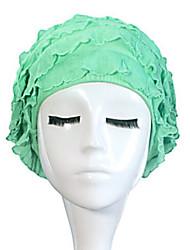 Sanqi Women's Fashional Cute Style Waterproof Anti-Slip Ear & Hair Protection Swimming Cap