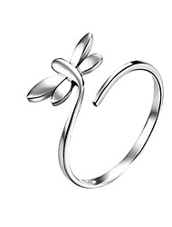 Simple Sterling Silver Butterfly Ring