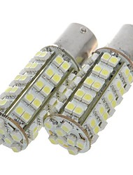 1156 3.5w 68-SMD LED 310 lumens frein de 6500k / ampoules sauvegarde de lumière blanche (blanc)