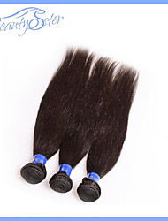 3Pieces Lot Brazilian Virgin Hair Straight 6A 100% Unprocessed Human Hair Extensions Weaves