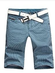 Shorts ( Blau/Grau , Baumwolle ) - für Freizeit - für MEN - Reine