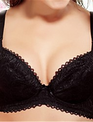 Comfortable Brassiere Women's Sexy Fashion Bra Big Chest Ladies Bra Underwear,Item,Thin Soft C-Cup, Three Hook-And-Eye