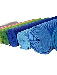 Yoga Mats ( Azul , pvc ) - 4.0