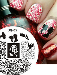 Nail Art Stamp Stamping Image Template Plate JQ Series NO.5
