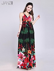 WIIVIP Women's Fashion Beach Dress Bohemian Dress