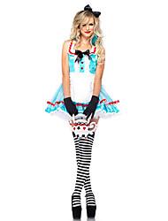 Fallen Alice Blue Maid Costume