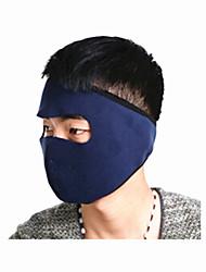 Moto/Ciclismo Máscara Facial Unissexo Respirável / A Prova de Vento Tosão DelgadoEsqui / Acampar e Caminhar / Pesca / Ciclismo/Moto /