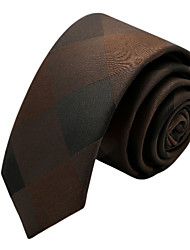 Accessories Ties Polyester Coffee