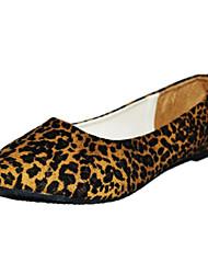 Women's Shoes Comfort Flat Heel Suede Flats Shoes