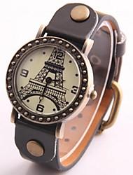 Relógio Bracelete - Mulher - Quartzo - Analógico - Torre Eiffel