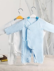 Baby All Seasons Micro-elastic Thin Long Sleeve Overalls & Jumpsuits (with Sterile Vacuum Packing)
