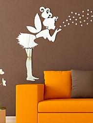 Mirror Wall Stickers Wall Decals, DIY Fairy Mirror Acrylic Wall Stickers