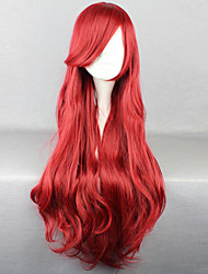 Disney Cartoon Characters Wine Red Wig