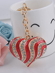 Heart With Drill Keychain