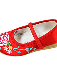 Girls' Shoes Round Toe Flat Heel Satin Flats Shoes More Colors available