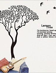 Большое дерево тв seeting стикера стены / спальня / кабинет стикер стены