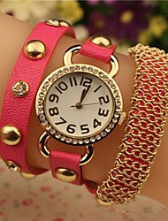 Women's 2015 The Latest  Fashion Chained   Japanese Quartz Watch(Assorted Colors) Cool Watches Unique Watches