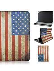 9.7 Inch Flag Pattern with Stand Case and Pen for iPad Air 2/iPad 6