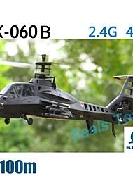 FeiLun FX060 4CH 2.4G Single Propeller Professional RC Remote Control Helicopter