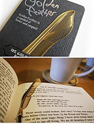 Gold Feather Metal Bookmark Kids Birthday Wedding Baby Shower Reurn Christmas Gifts Favors