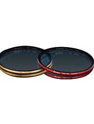 Eirmai 82mm Ultra-Thin High-Definition Multi Coated SMP MRC UV Filters (Gold Ring / Red Circle) for 82mm Diameter