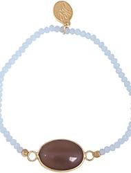 Women's 18K Gold Plated Fashion/Strand/Children's With Diamond Bracelet