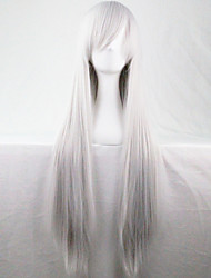 The New Anime With Long Straight Hair Wig 80CM