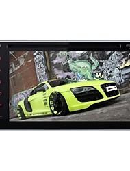 Auto-DVD-Player android4.4 Lärm 2 6.2 Zoll 800 x 480built Bluetooth / GPS / RDS / 3D UI / SWC / wifi / Subwoofer für nissan