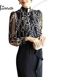 Women's Black Blouse Long Sleeve