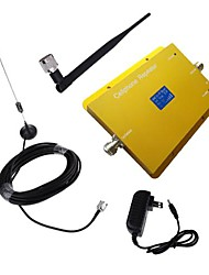 New LCD Display CDMA950 850MHz Mobile Cell Phone Signal Booster with Whip and Sucker Antenna