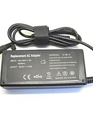 18.5v 3.5a cargador adaptador de corriente portátil 65w de red para HP 500 510 520 530 540 550 620 625 cq515