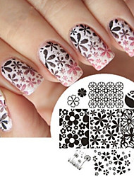 Nail Art Stamp Stamping Image Template Plate JQ Series NO.2