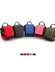 Bolsa - Verde/Vermelho/Rosa/Cinzento/Azul - Prova-de-Água/Á Prova-de-Pó - Um Ombro - Canon/Nikon/Olympus/Sony/Panasonic - Câmara Digital
