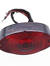 Motorcycle Bike Tail Rear Running Light Red Black Casing Hot