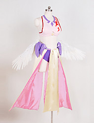 nenhum jogo não Jibril vida traje cosplay traje do anjo cosplay