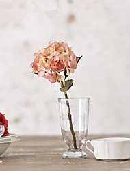 Light Pink Hyfrangeas Artifical Flowers