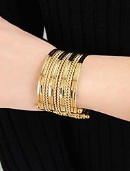 Latest Design Wholesale Punk Style Multilayers Wide Cuff Bracelet