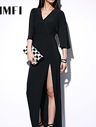 Maxi - Vestido - Seda - Sem Forro