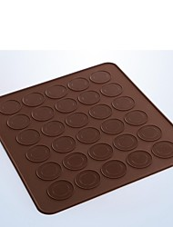 Bakeware High Quality Silicone Cake Macaron Baking Molds