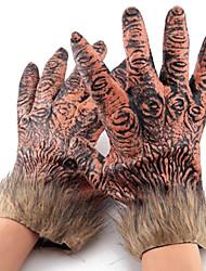 loups-garous en peluche échapper gants de colle pour Halloween (2 pcs)