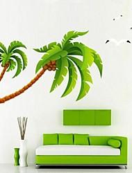 окружающей среды DIY съемный приморский Кокосовые Комарова стикер стены