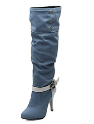 Women's Shoes Fashion Boots Stiletto Heel  Knee High Boots More Colors available