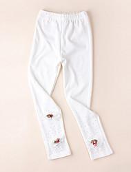 Girl's Fashion Joker Pure Color Leggings