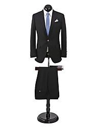 Costumes ( Noir , Laine , 2 Pièces ) Tailorde Fit