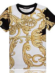 INC1991 Men's Casual 3D Printing Short Sleeve T-Shirts
