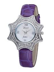 Women's Bracelet Watch Quartz Analog Vintage Unique Star Case