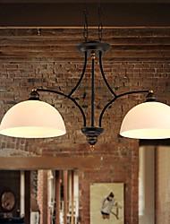 lustres maishang® mini-estilo rústico / lodge sala de estar / quarto / sala de jantar / sala de estudo / escritório de metal