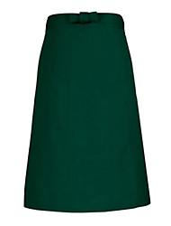 35% Cotton Dark Green Medium Type Apron