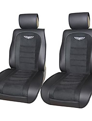 Auto Youth AY80301 Velour Leather Deluxe Car Seat Cushions Universal Fit is Compatible with Most Vehicles