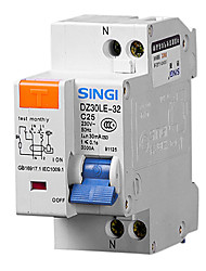 DZ30LE-32 1p + n25a FI-Schutzschalter Fehlerstromschutzschalter